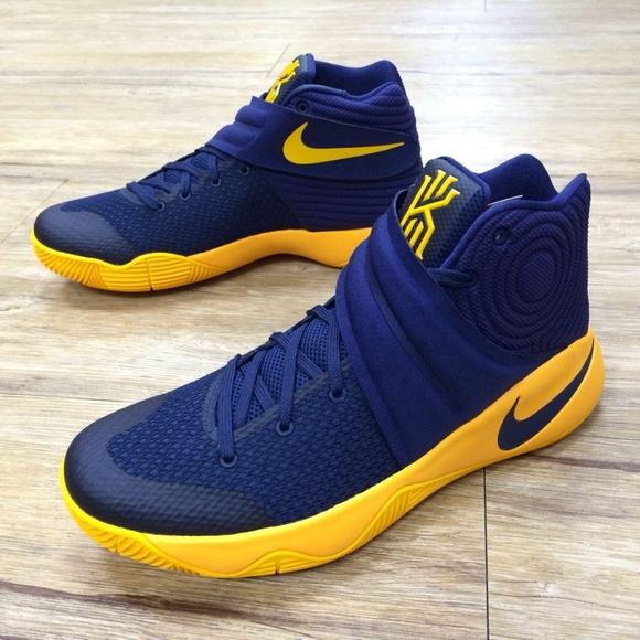 Nike Kyrie Irving 2g Yellow And Navy